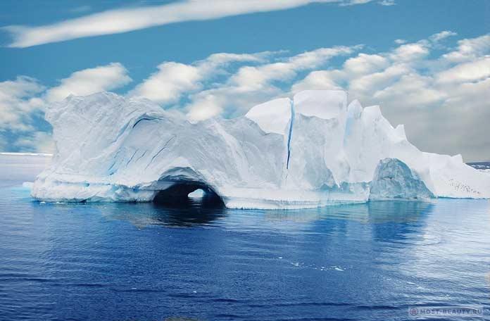 Ледник с аркой