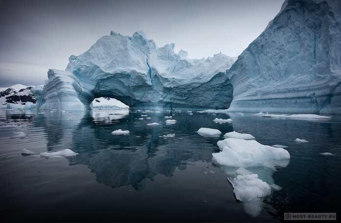 Прекрасные льды Антарктики