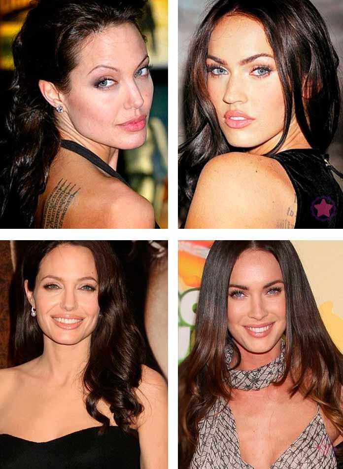 Джоли и Меган Фокс