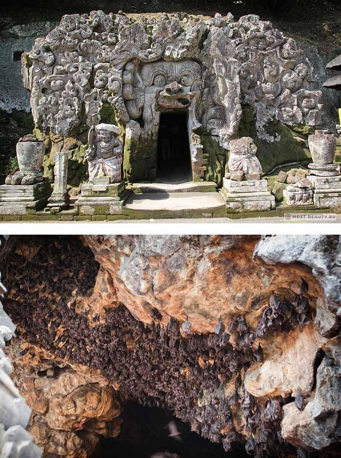 Пещера летучих мышей Goa Lawah