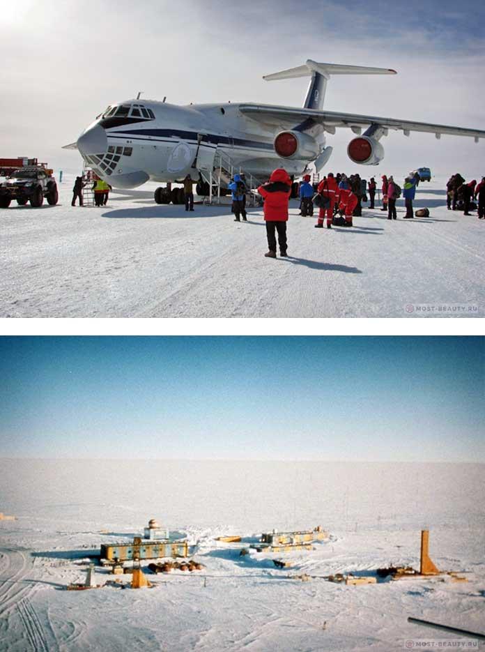 Люди в Антарктике
