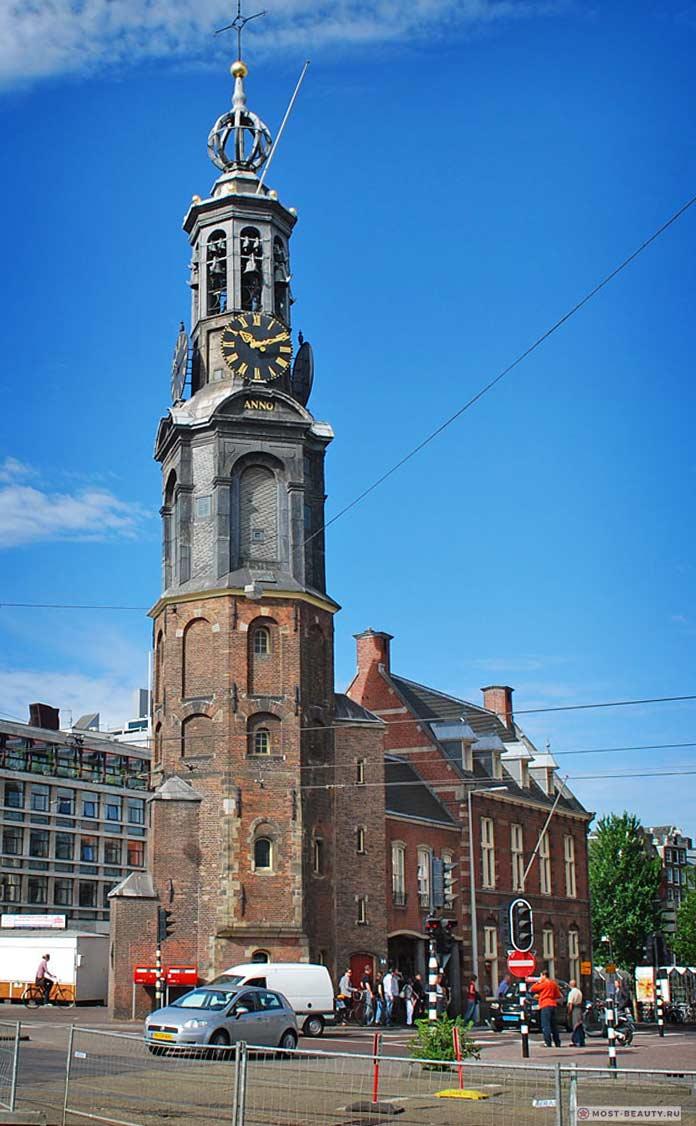 Монетная башня Амстердама