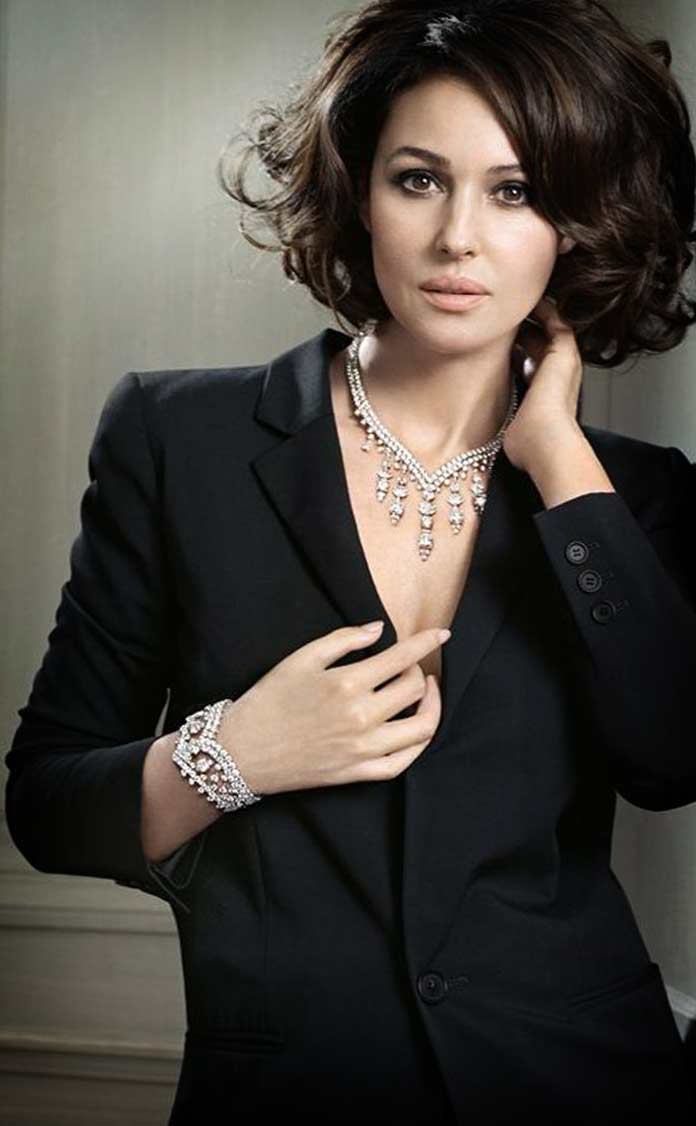 Monica Bellucci for Cartier