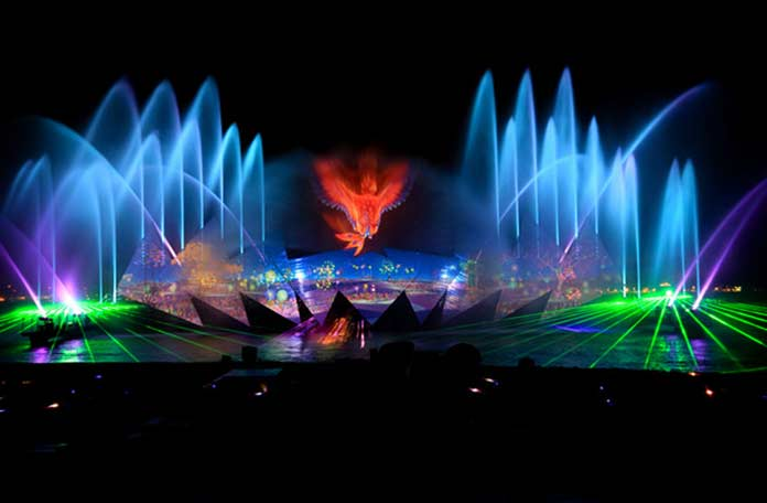 Музыкальные фонтаны Сентозы