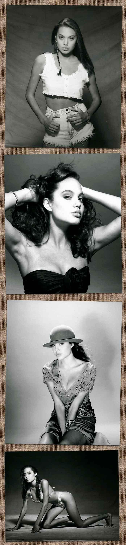 Первые модельные фотографии Анджелины Джоли