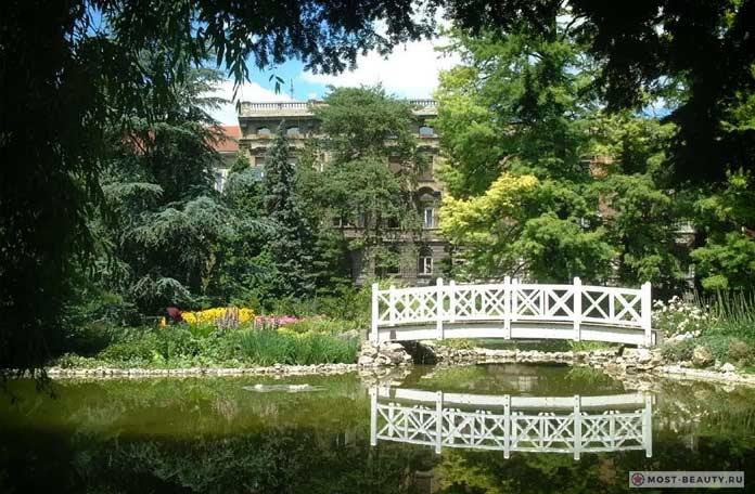 Ботанический сад загреб