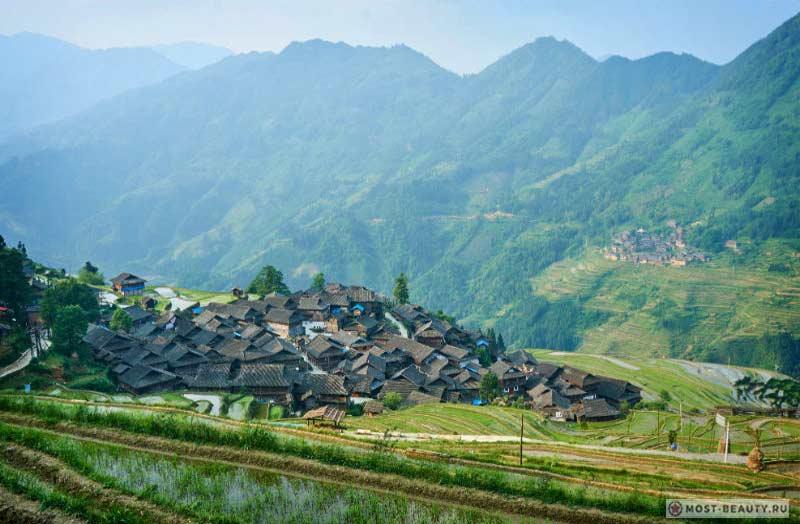 Рисовые поля в Цзябанге