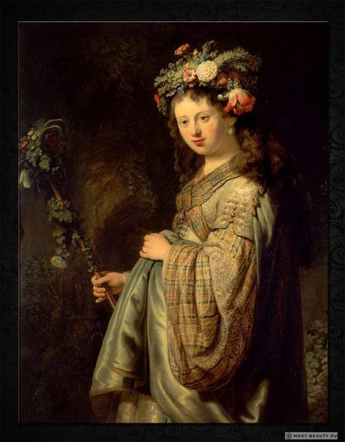 Рембрандт – «Флора»