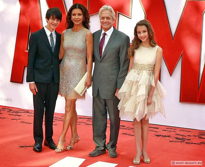 Семья актрисы