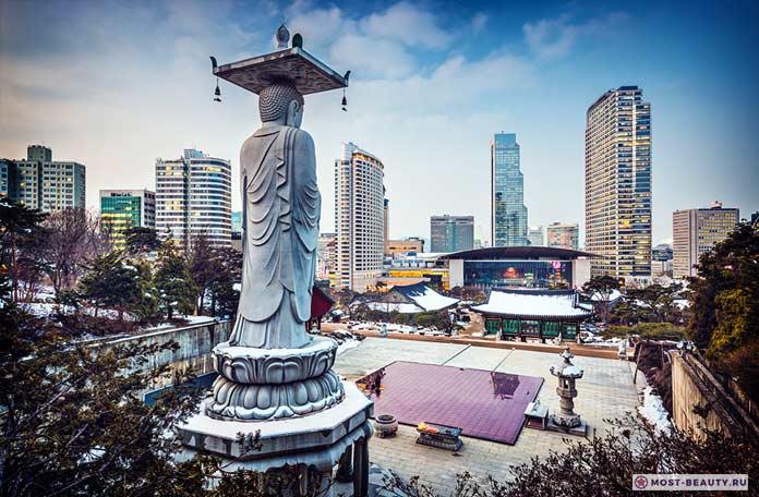 Основные достопримечательности Южной Кореи