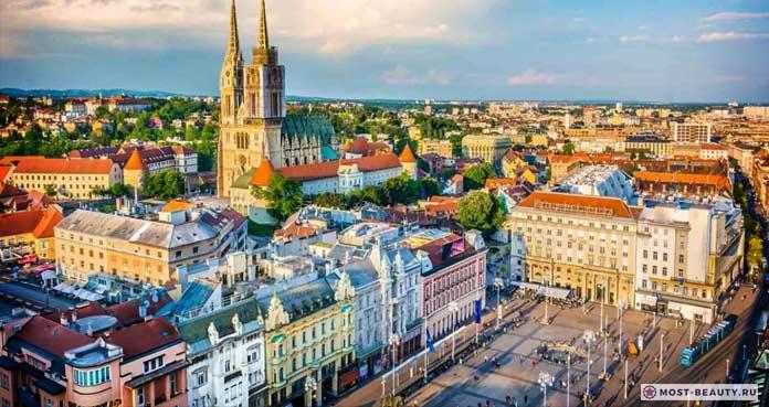 Большой список популярных достопримечательностей Загреба