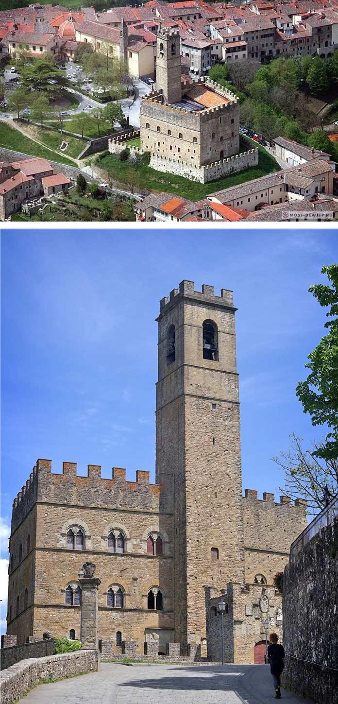 Замок Кастелло ди Поппи