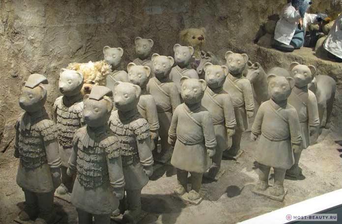 музей плюшевых мишек в Корее