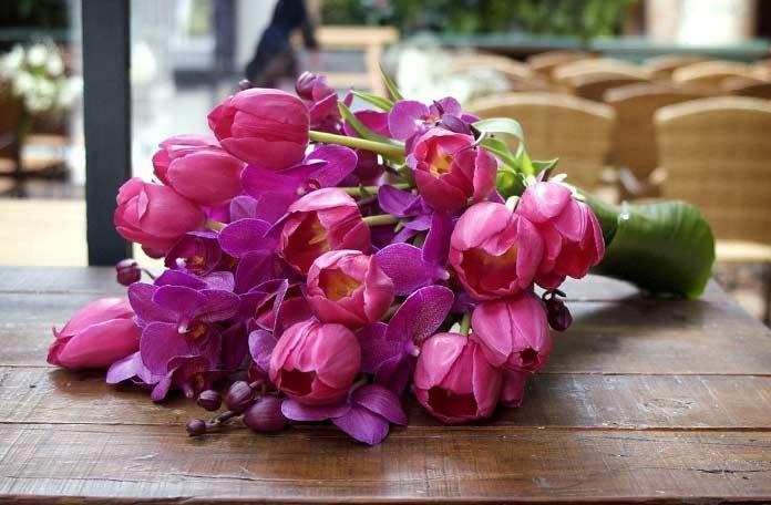Прекрасный букет. Самые красивые тюльпаны