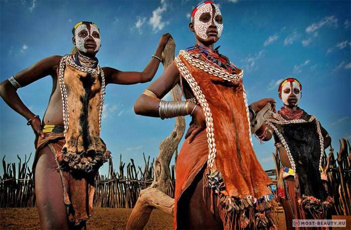 Красивые эфиопки