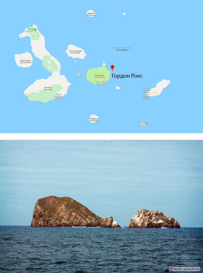 Gordon's Rock galapagos