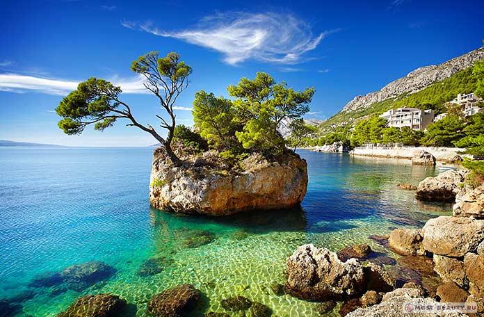 Пляжи-Хорватии