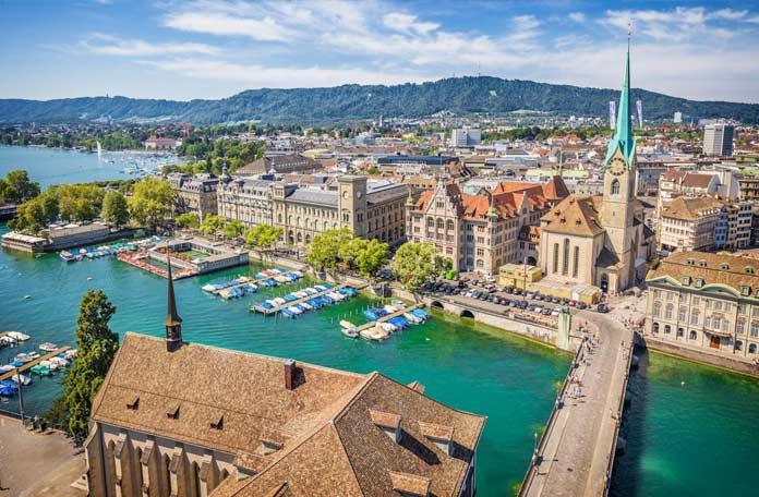 Список лучших достопримечательностей Цюриха