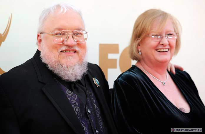 george rr martin and parris mcbride