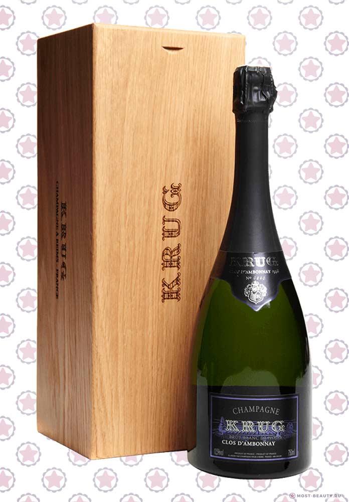 Krug Clos d'Ambonnay - одна из самых эксклюзивных бутылок шампанского в мире