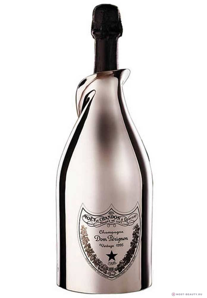 Moët & Chandon Dom Perignon White Gold, лучшее шампанское