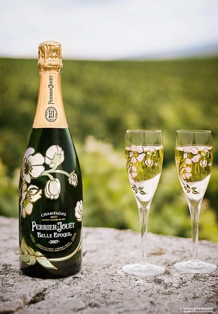 Perrier-Jouët Belle Epoque, дорогое шампанское