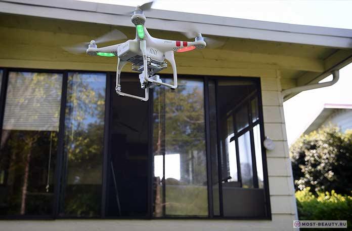 дрон для подглядывания