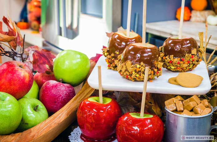 Разнообразные яблоки