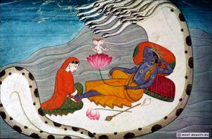 Вишну и Брахма