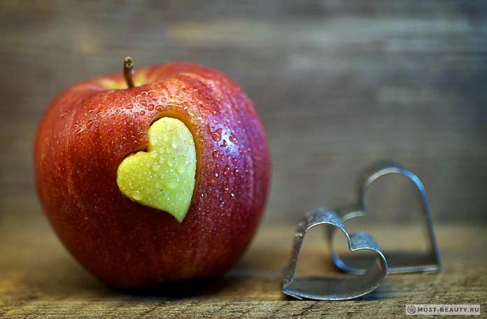 Яблоки с клетчаткой