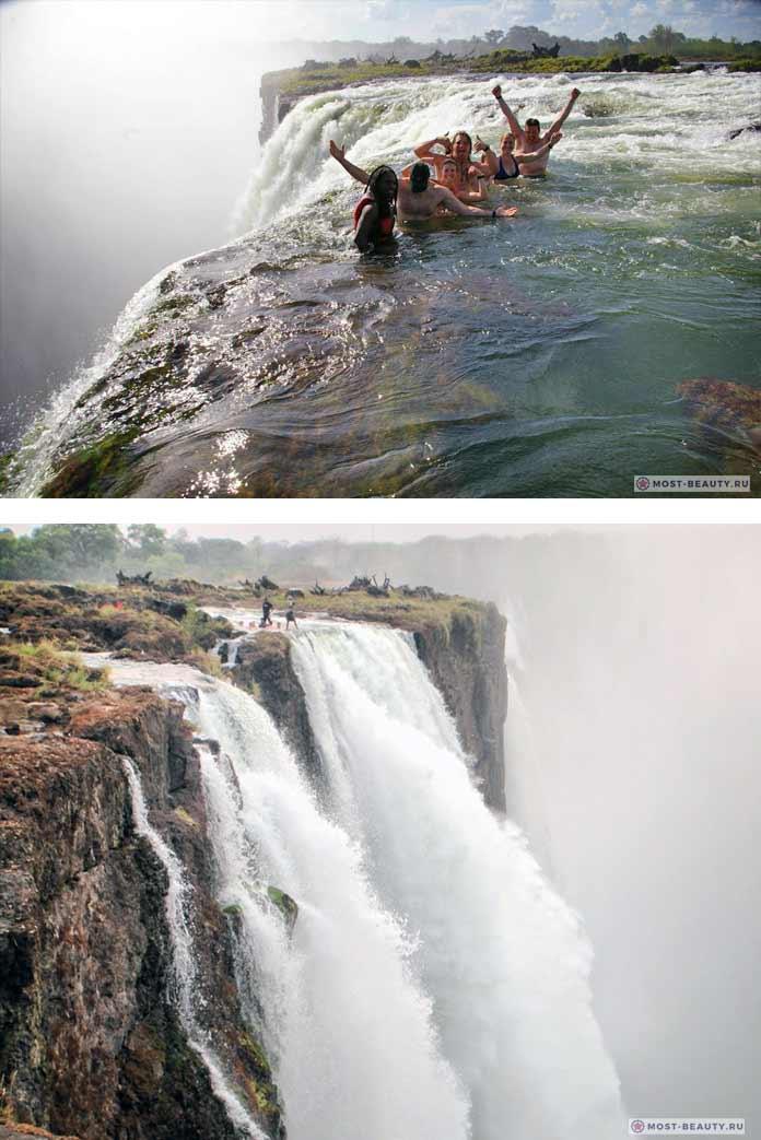 devil's pool victoria falls zambia