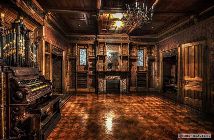 дом Винчестеров внутри