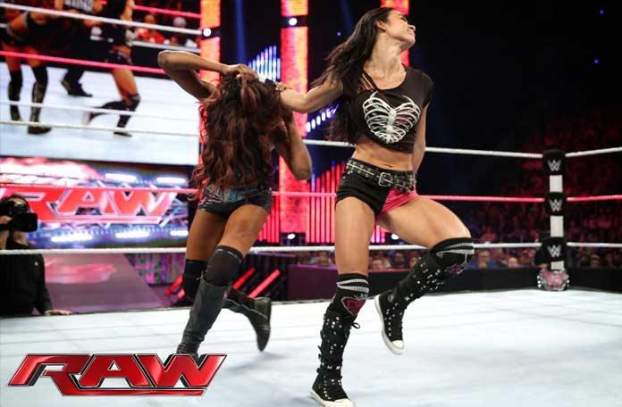 Девушки WWE