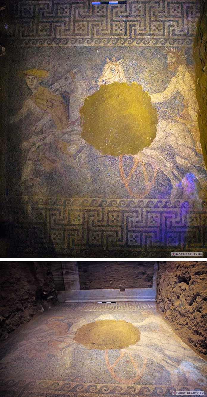 Гигантская мозаика Амфиполиса
