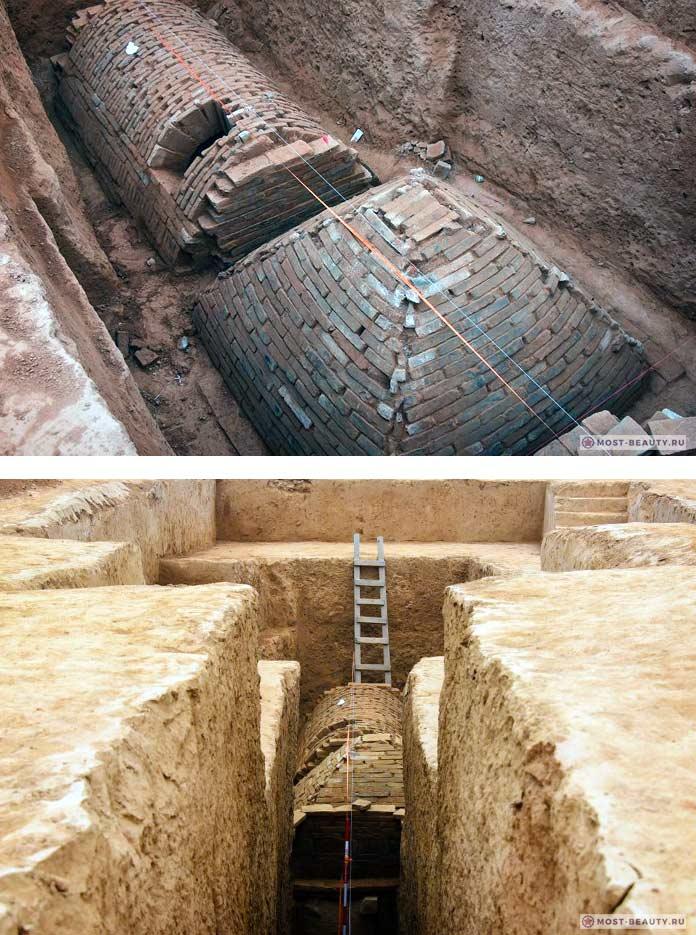 Крошечные пирамиды Китая
