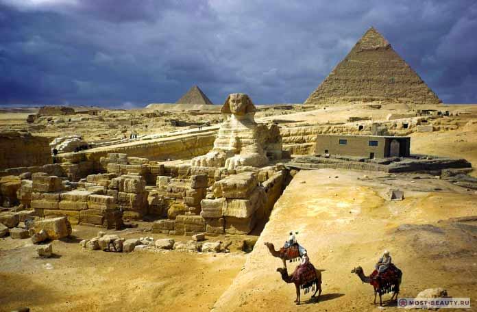 Пирамиды под Гизой