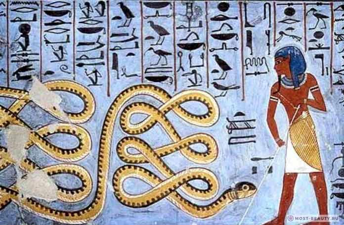 Смерть принца от змеи