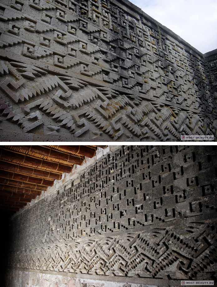 Таинственная мозаика в Митле