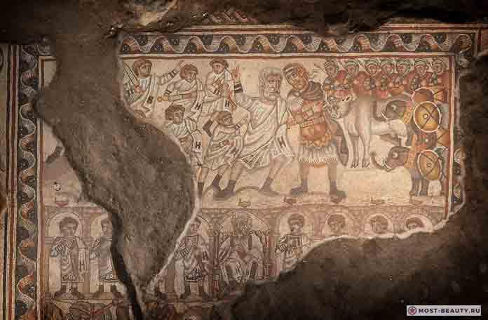 Загадочная мозаика в Хукоке
