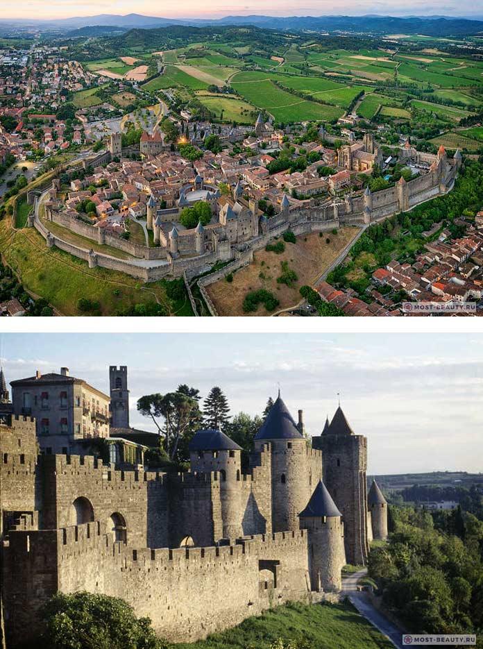 Замок-крепость Каркасон