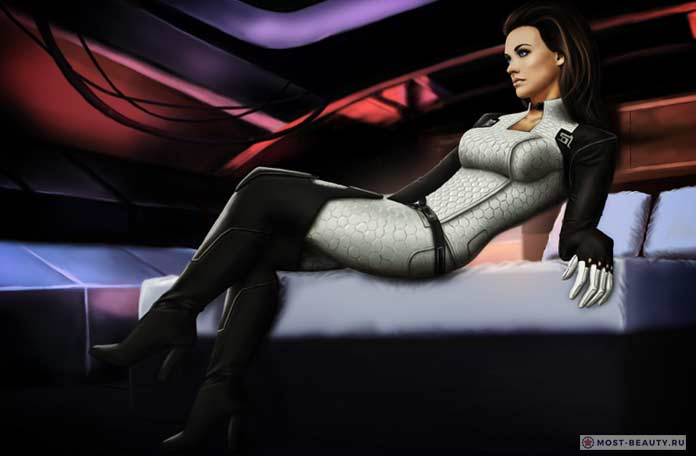 mass effect 2 miranda lawson