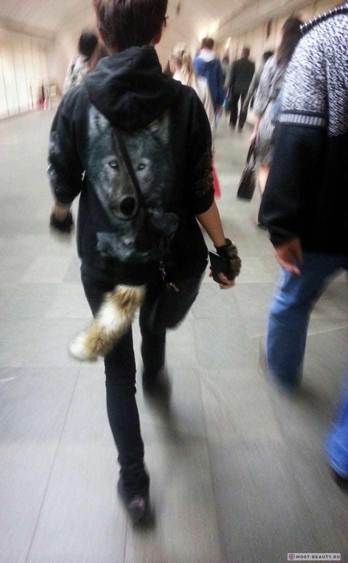 фото модниц в метро: Красивый хвост