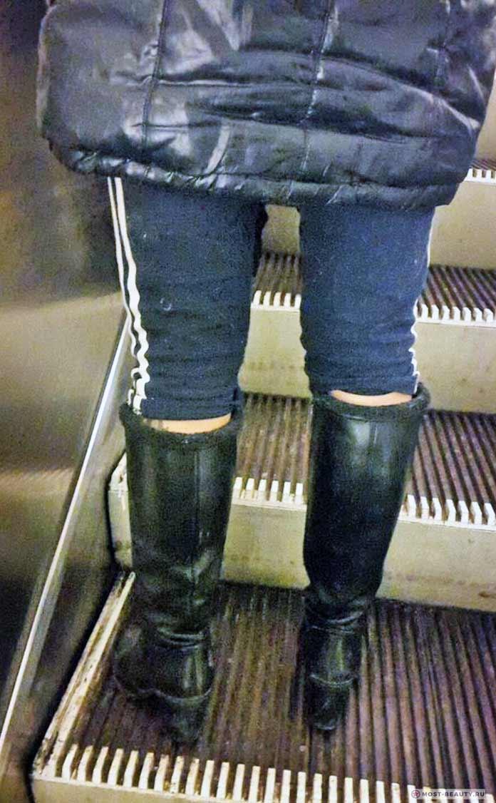 фото модниц в метро: Трикошки