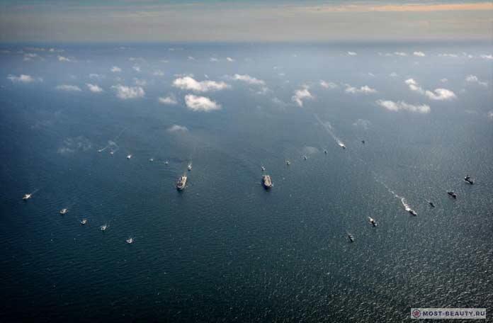 ТОП-10 самых мощных военно-морских сил в мире