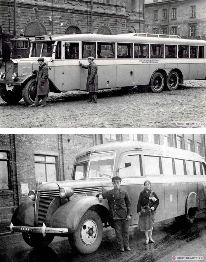Старые советские автобусы