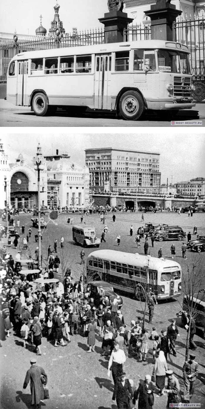 Автобусы СССР старые фото