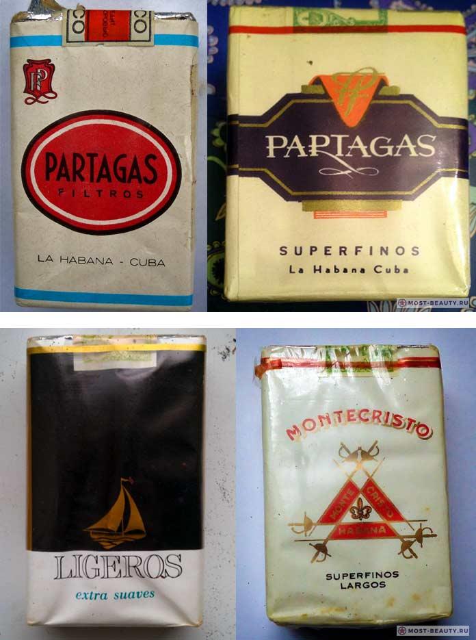 Какие сигареты курили в СССР: Гостинцы сКубы