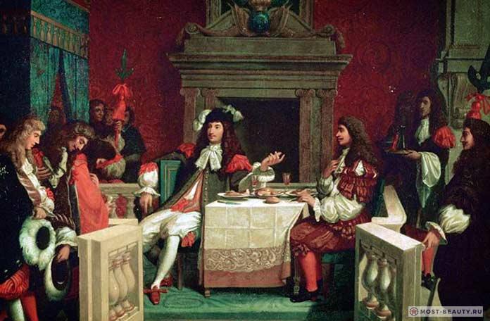 Людовик XIV и чай