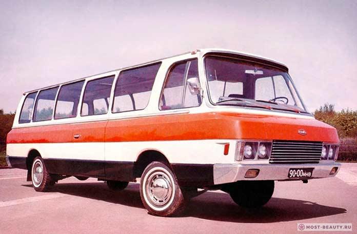 Микроавтобусы Юность