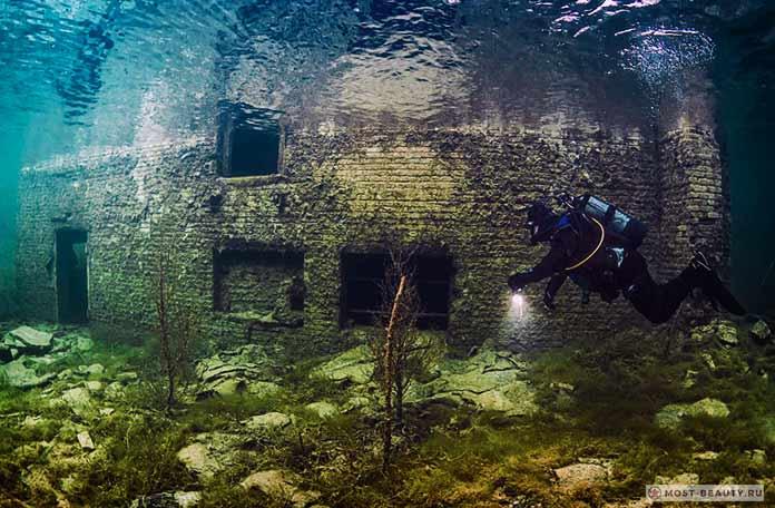 Подводная тюрьма вЭстонии